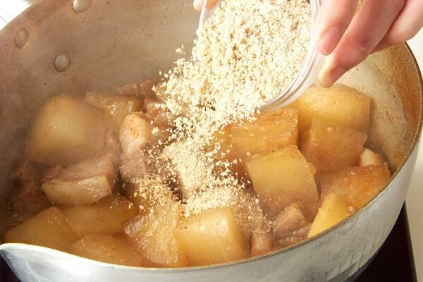 大根のピリ辛煮の作り方の手順7