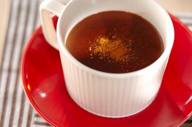 基本のホットチョコレートの作り方♪ 体の芯からあたたまろうの画像