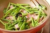 空心菜の炒め物の作り方2