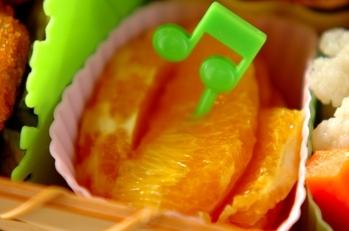 オレンジのハニーマリネ