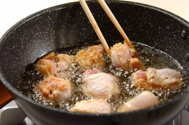 ガーリック風味から揚げの作り方の手順5