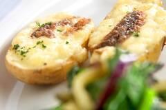 ジャガイモのチーズ焼き