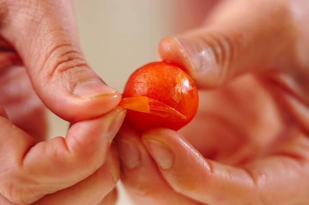 プチトマトのマリネの作り方の手順1