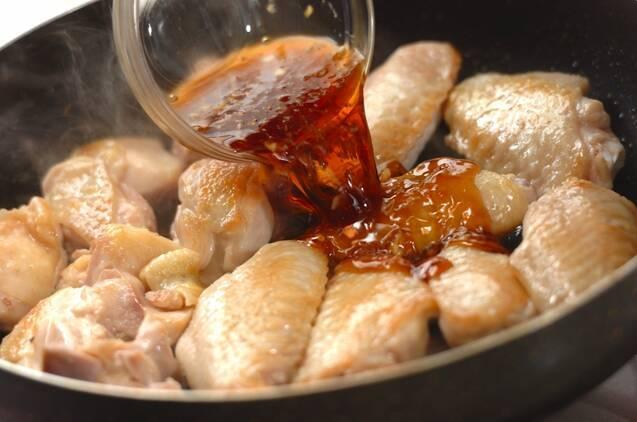 鶏の照り焼きの作り方の手順4