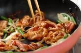 厚揚げとインゲンのトロミ炒めの作り方3