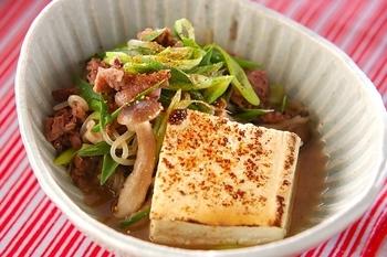 肉豆腐みそ味