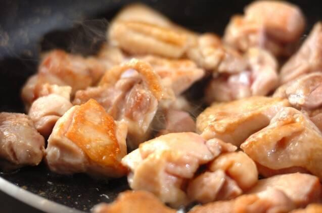 鶏の塩照り焼きの作り方の手順3