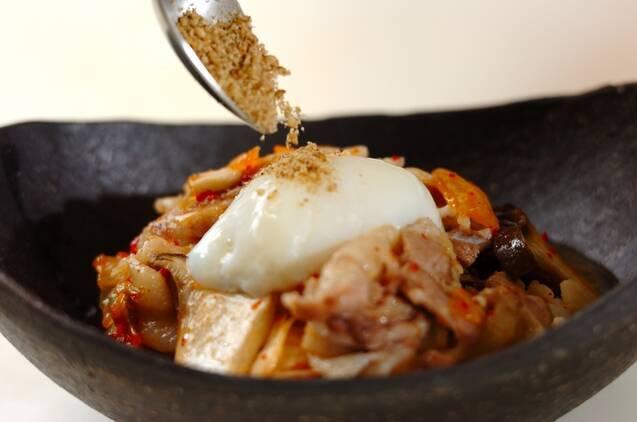 レンジ豚キムチの作り方の手順4