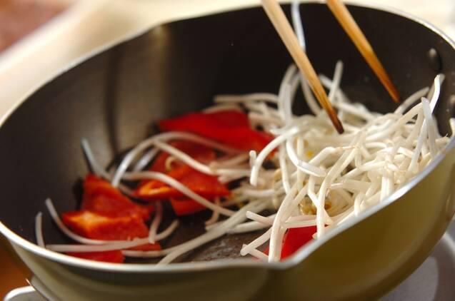 スタミナレバニラ炒めの作り方の手順6