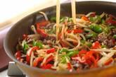 青椒肉絲(チンジャオロース)の作り方4