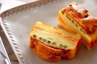 ハムと野菜のインビジブルサレ