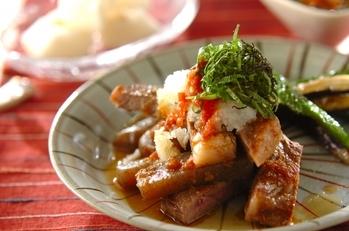 梅おろしステーキ