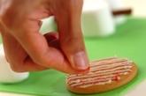 スノーマンクッキーの作り方3
