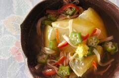 冬瓜とカニカマの煮物