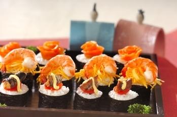 クルクルのっけ寿司