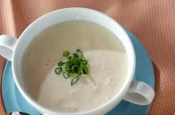 豆腐の冷製スープ
