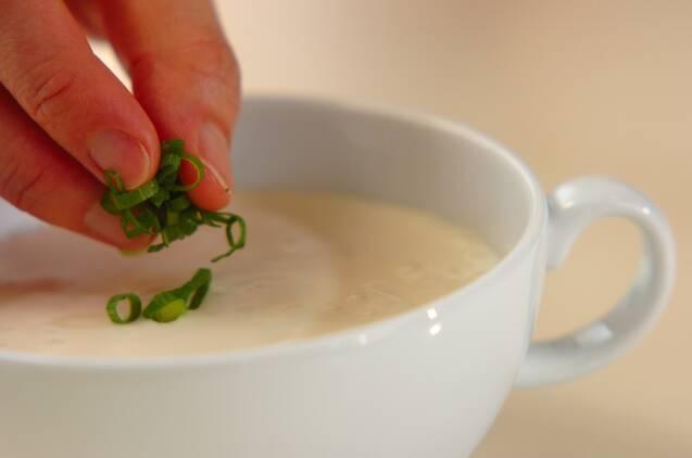 豆腐の冷製スープの作り方の手順3