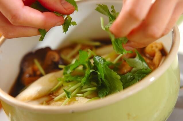 簡単でおいしい!木の葉丼の作り方の手順3