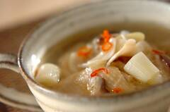 サムゲタン風スープ