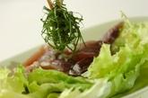 カツオのサラダの作り方2