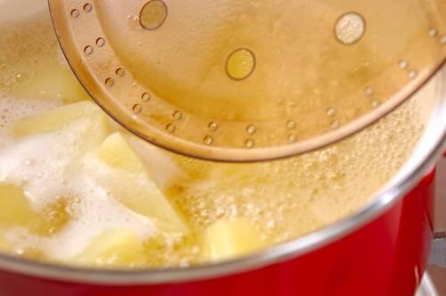 ジャガイモの甘煮の作り方の手順2