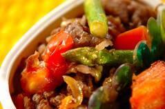 牛肉とトマトのサッと炒め煮