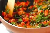 鮭のソテーバジルトマトソースの作り方4