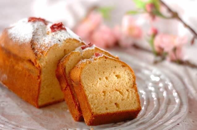 桜パウンドケーキ