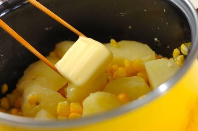 ジャガバターコーンの作り方の手順3