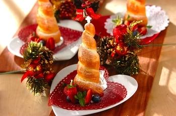 クリスマスツリーコロネ
