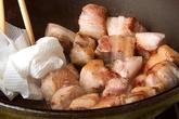 豚バラと大根のコーラ煮の作り方1