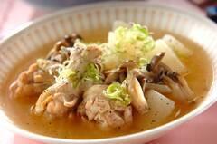 手羽元と大根のスープ煮