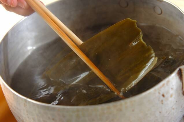 ゴマダレの豚しゃぶの作り方の手順3