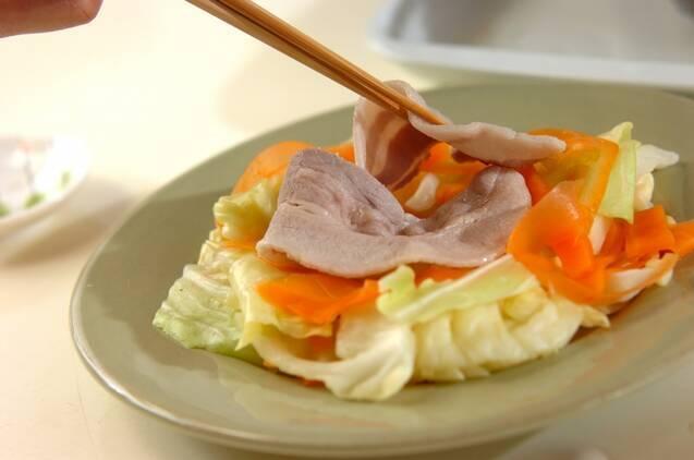 ゴマダレの豚しゃぶの作り方の手順6