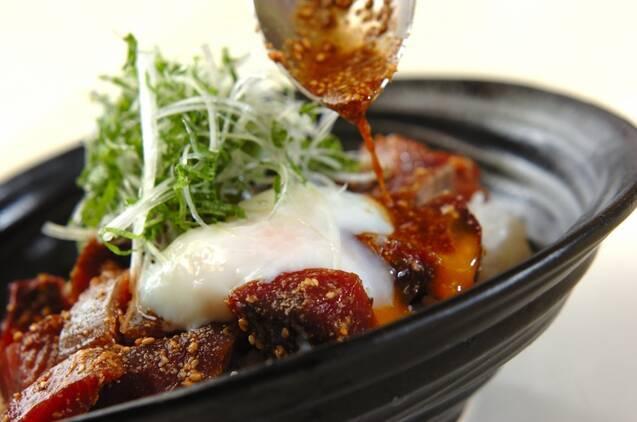 温泉卵のせカツオ丼の作り方の手順8
