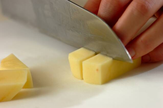 ジャガイモのマスタードマリネの作り方の手順1