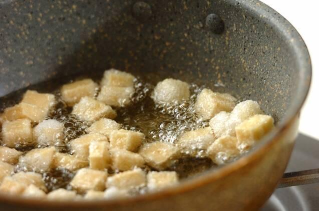 ヒジキと揚げ高野豆腐の煮物の作り方の手順4