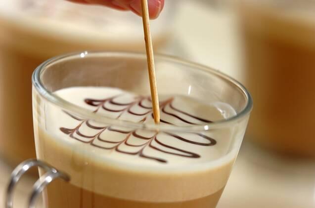 カフェモカババロアの作り方の手順8