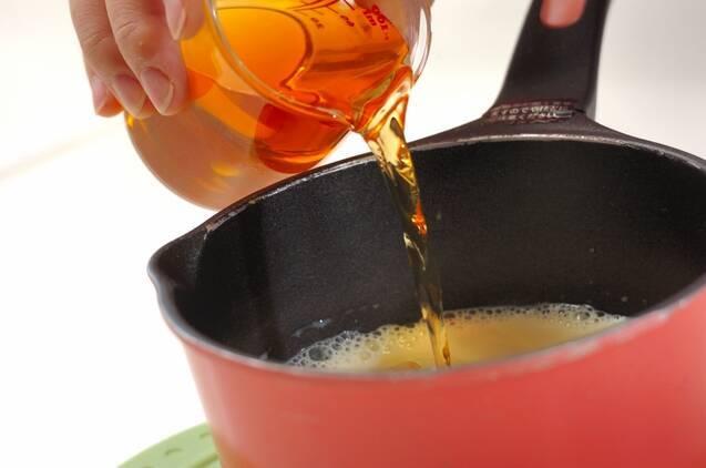 梅酒と豆乳のゼリーの作り方の手順2