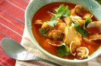 アサリと豆腐のチゲ