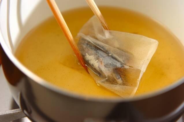 アサリと豆腐のチゲの作り方の手順4