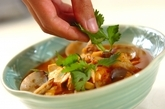 アサリと豆腐のチゲの作り方4