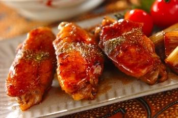 鶏手羽の照り焼き