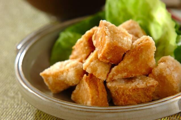 凍み豆腐の唐揚げ