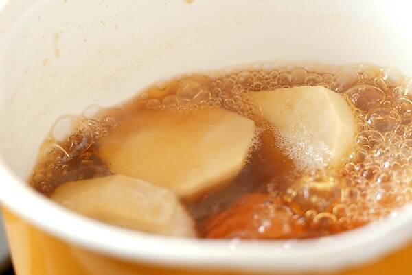 エビ芋のうま煮の作り方の手順2