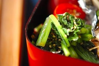 小松菜のゴマ和え