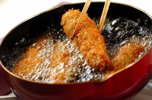 ナスの肉巻きフライの作り方の手順3