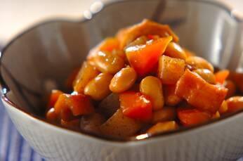 常備菜にも嬉しい五目豆煮