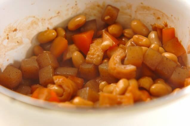 常備菜にも嬉しい五目豆煮の作り方の手順4