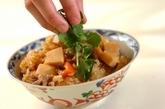 鶏肉とタケノコのレンジおこわの作り方5